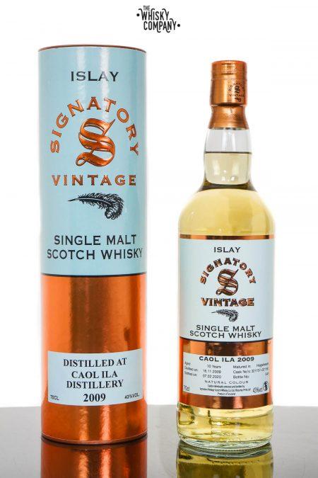 Caol Ila 2009 Aged 10 Years Islay Single Malt Scotch Whisky - Signatory Vintage (700ml)