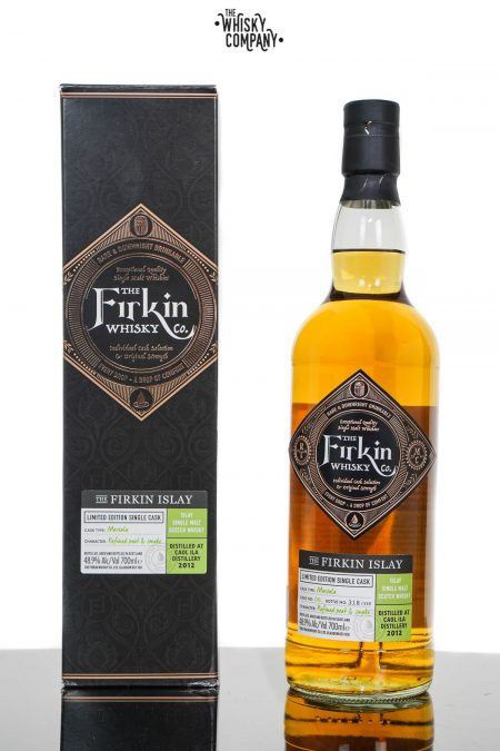 Caol Ila 2012 Aged 7 Years Marsala Cask Single Malt Scotch Whisky - Firkin Whisky Co. (700ml)