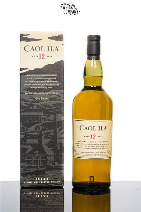 Caol Ila Aged 12 Years Islay Single Malt Scotch Whisky (1000ml)