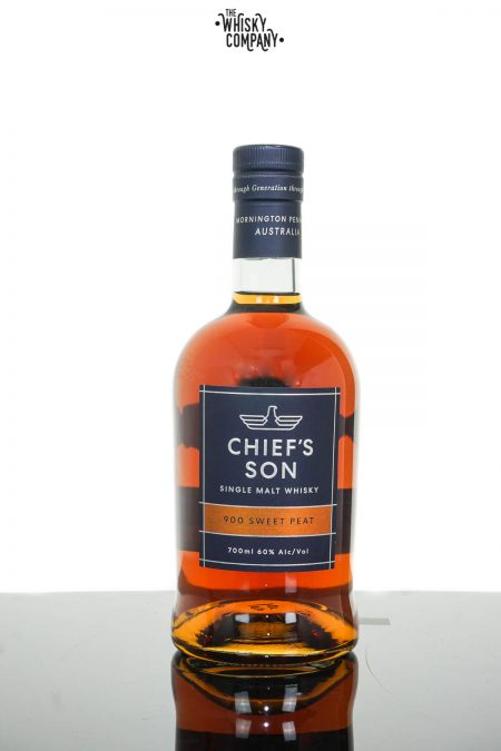Chief's Son 900 Sweet Peat Cask Strength Australian Single Malt Whisky (700ml)
