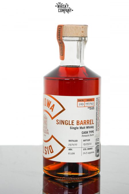 Corowa Single Barrel Peated French Oak Port Cask Matured Single Malt Whisky - Cask 249 (500ml)