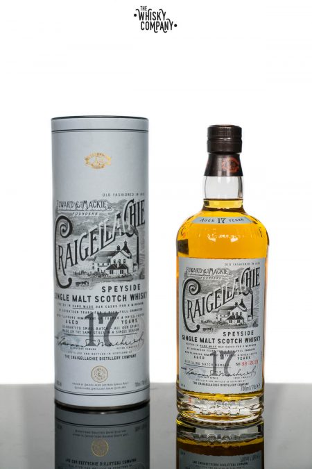 Craigellachie Aged 17 Years Speyside Single Malt Scotch Whisky (700ml)