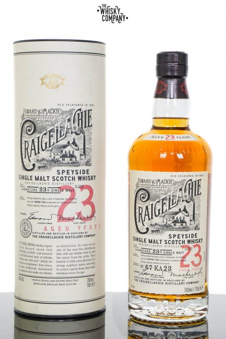 Craigellachie Aged 23 Years Speyside Single Malt Scotch Whisky (700ml)