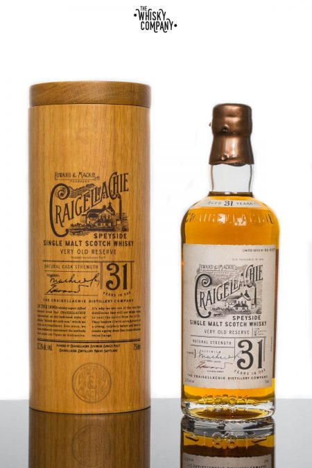 Craigellachie 31 Years In Oak Speyside Single Malt Scotch Whisky (700ml)