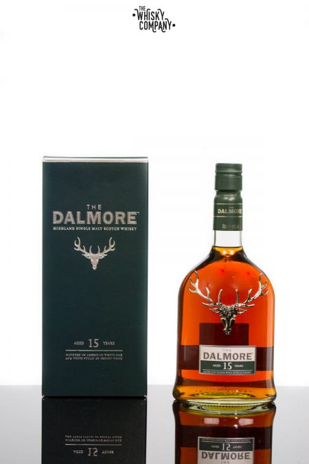 The Dalmore Aged 15 Years Highland Single Malt Scotch Whisky (700ml)