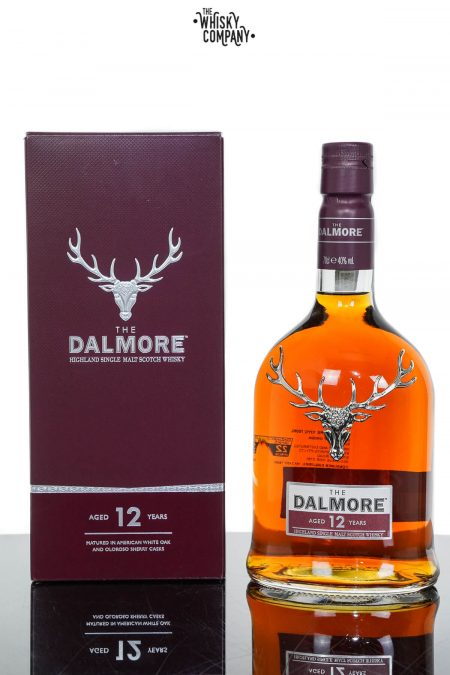 The Dalmore Aged 12 Years Highland Single Malt Scotch Whisky (700ml)