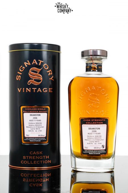 Deanston 2006 Aged 11 Years Single Malt Scotch Whisky - Signatory Vintage (700ml)
