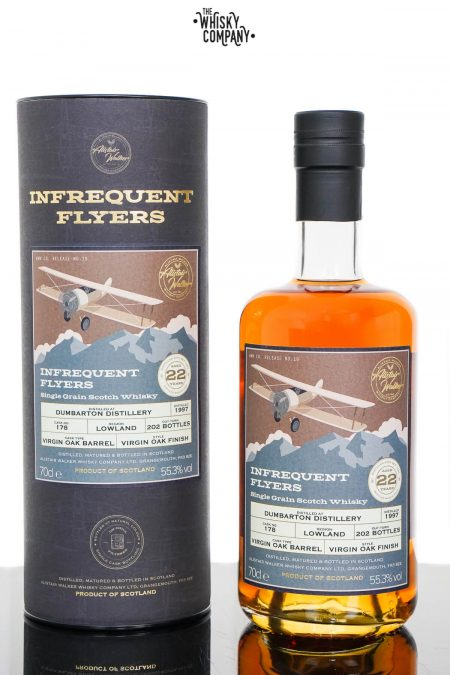 Dumbarton 1997 Aged 22 Years Single Grain Scotch Whisky - Infrequent Flyers #19 (700ml)