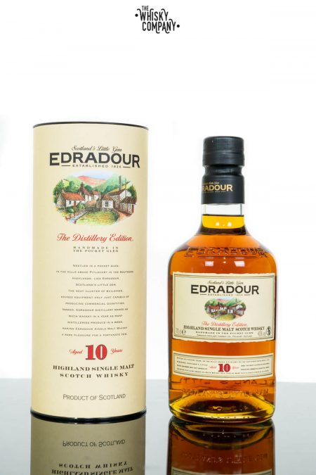 Edradour 10 Years Old Distillery Edition Highland Single Malt Scotch Whisky (700ml)