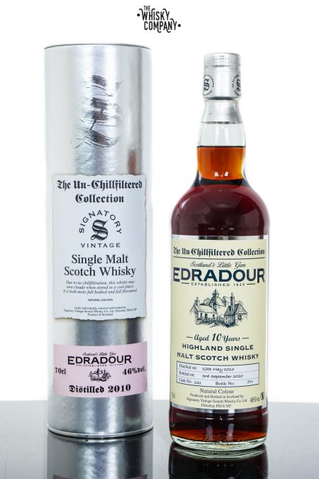 Edradour 2010 Aged 10 Years Single Malt Scotch Whisky - Signatory Vintage (700ml)