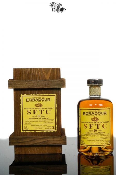 Edradour SFTC 2008 Sauternes Cask Matured Single Malt Scotch Whisky (500ml)