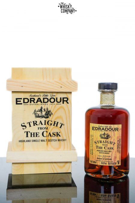 Edradour 2009 Aged 10 Years SFTC Highland Single Malt Scotch Whisky - Cask 372 (500ml)