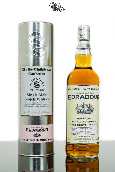 Edradour 2007 Aged 10 Years Single Malt Scotch Whisky - Signatory Vintage (700ml)