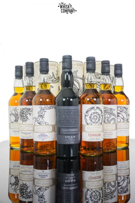 Games Of Thrones Single Malt FULL Collection (700ml)