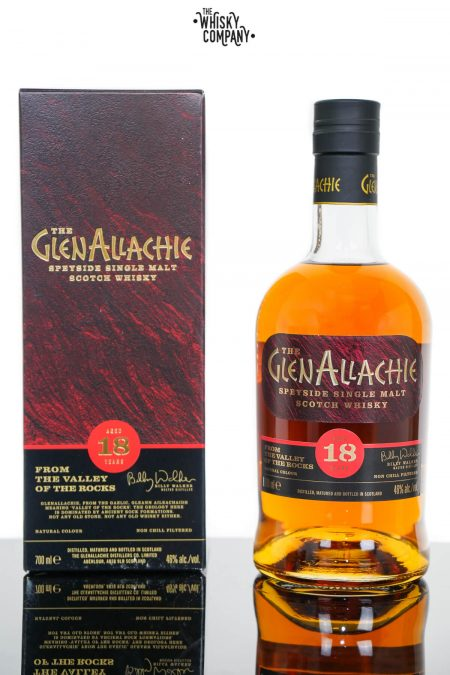 GlenAllachie 18 Years Old Single Malt Scotch Whisky (700ml)