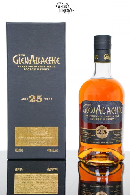 GlenAllachie 25 Years Old Single Malt Scotch Whisky (700ml)
