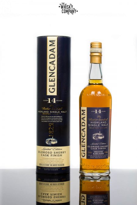 Glencadam Aged 14 Years Oloroso Sherry Highland Single Malt Scotch Whisky (700ml)