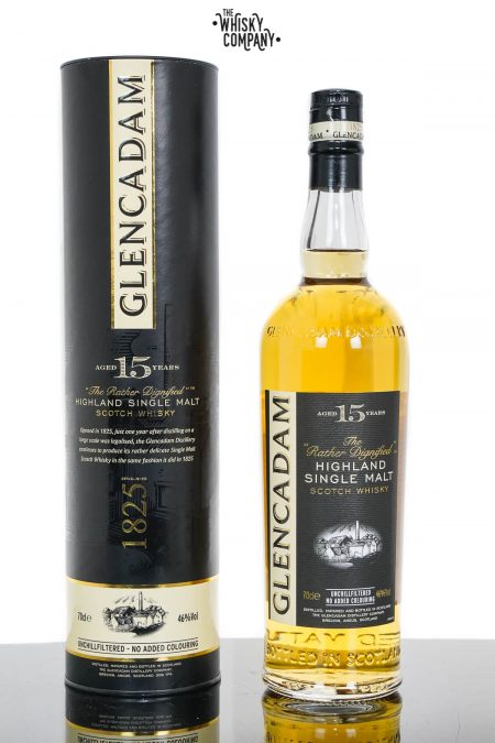 Glencadam Aged 15 Years Highland Single Malt Scotch Whisky (700ml)