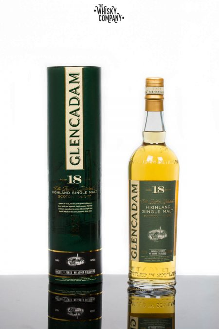 Glencadam Aged 18 Years Highland Single Malt Scotch Whisky (700ml)
