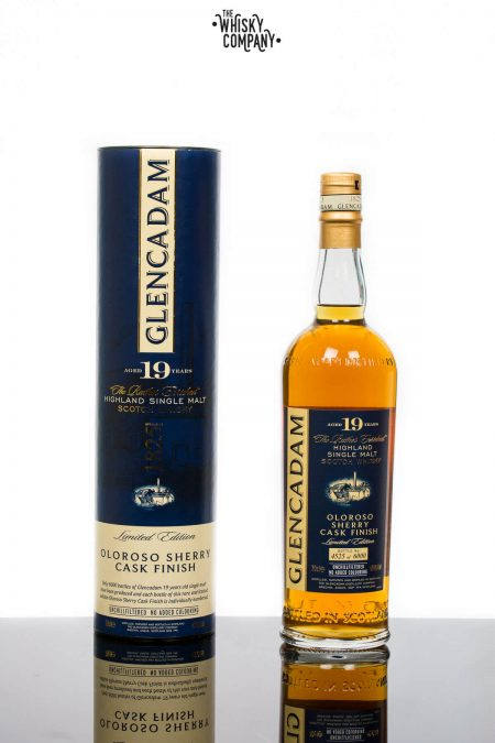 Glencadam Aged 19 Years Oloroso Sherry Finish Highland Single Malt Scotch Whisky (700ml)