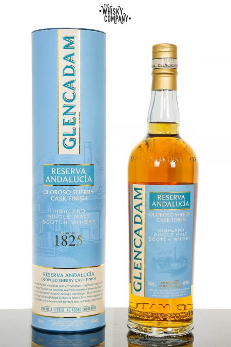 Glencadam Reserva Andalucia Oloroso Sherry Finish Highland Single Malt Scotch Whisky (700ml)