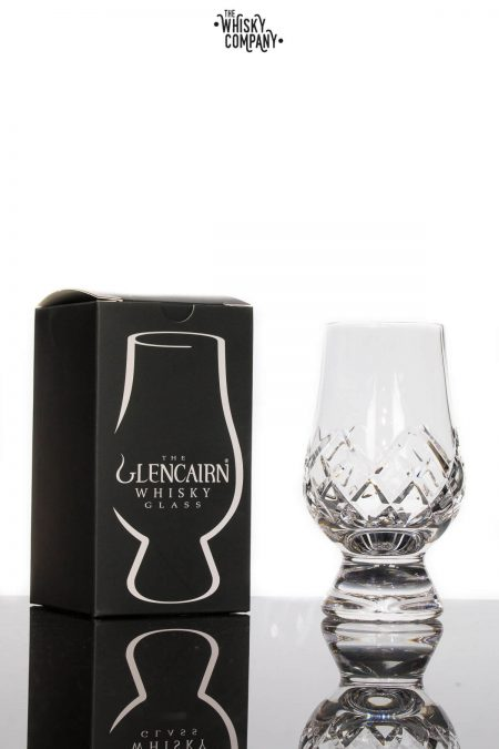 Glencairn Cut Crystal Whisky Glass In Presentation Box