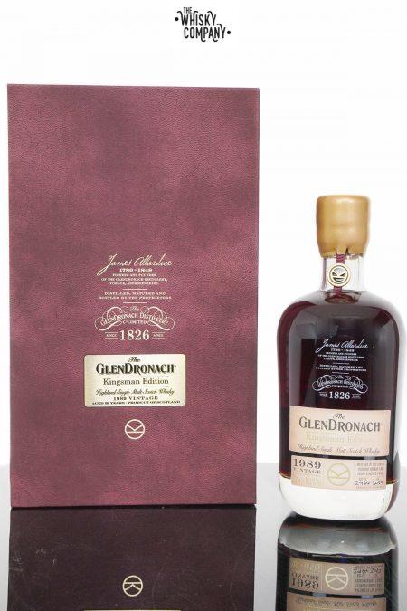 GlenDronach Kingsman 1989 Vintage 29 Years Old Single Malt Scotch Whisky (700ml)