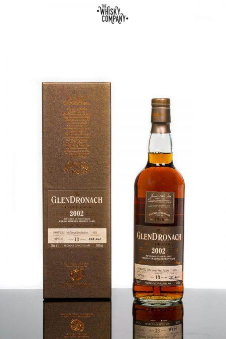 GlenDronach 2002 Single Cask Aged 13 Years #4651 Highland Single Malt Scotch Whisky (700ml)