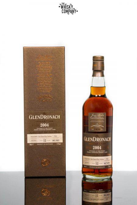 GlenDronach 2004 Single Cask Aged 12 Years #5521 Bottle 267 Highland Single Malt Scotch Whisky (700ml)