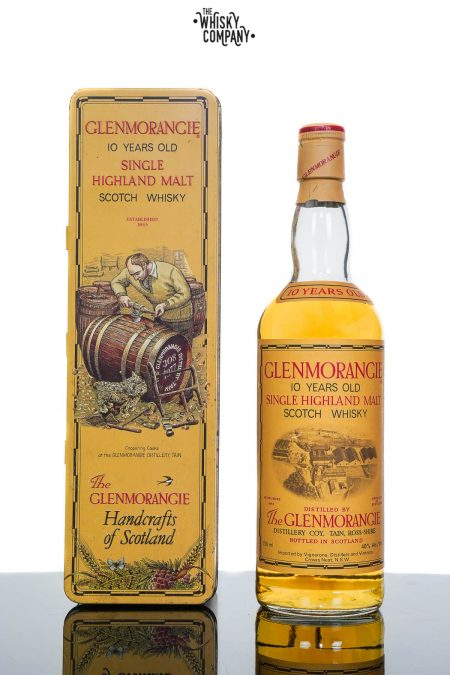 Glenmorangie 1980's 10 Years Old Highland Single Malt Scotch Whisky (700ml)