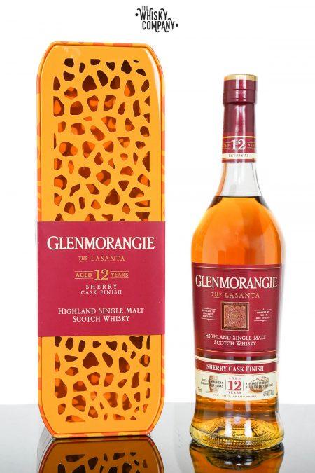 Glenmorangie Lasanta Aged 12 Years Giraffe Tin Highland Single Malt Scotch Whisky (700ml)