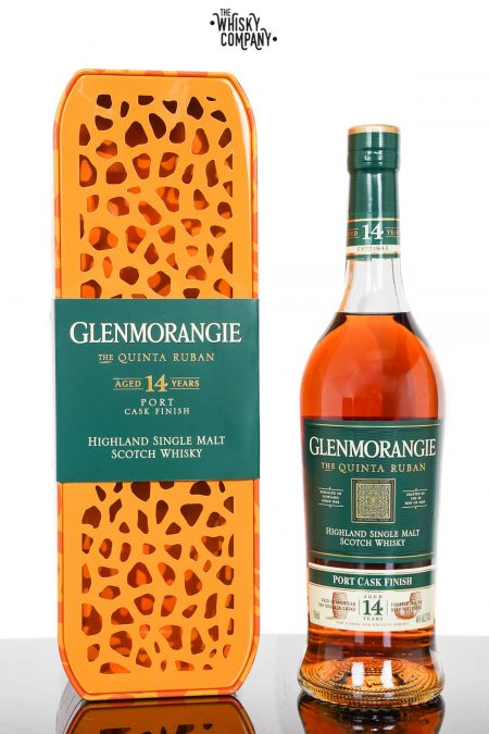 Glenmorangie Quinta Ruban Aged 14 Years Giraffe Tin Highland Single Malt Scotch Whisky (700ml)