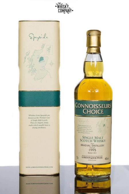 Braeval 1995 Speyside Single Malt Scotch Whisky - Gordon & MacPhail (700ml)