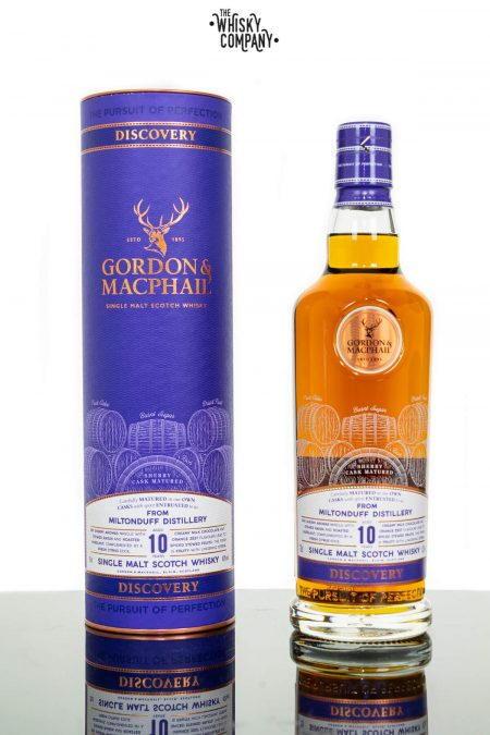 Miltonduff Aged 10 Years Discovery Single Malt Scotch Whisky - Gordon & MacPhail (700ml)