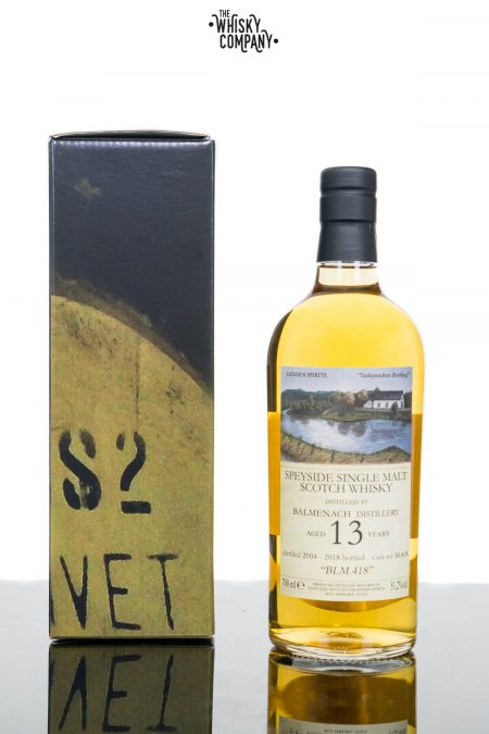 Balmenach Aged 13 Years Speyside Single Malt Scotch Whisky - Hidden Spirits (700ml)