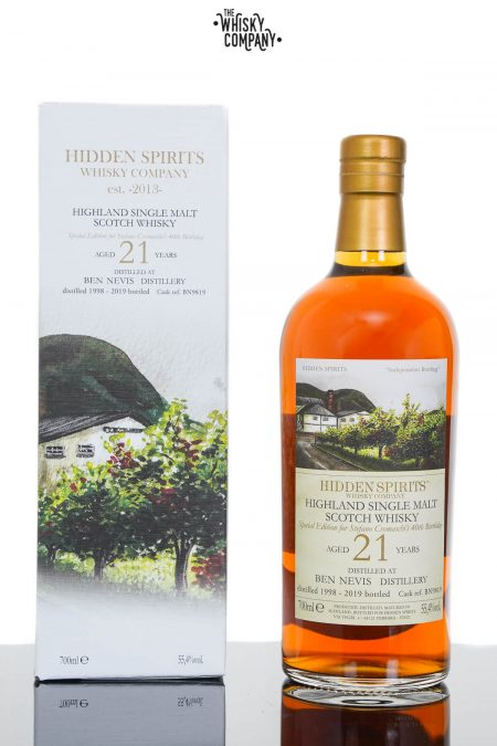 Ben Nevis 1998 Aged 21 Years Single Malt Scotch Whisky - Hidden Spirits (700ml)
