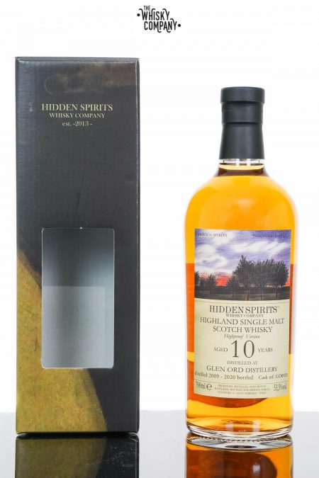 Glen Ord 2009 Aged 10 Years Single Malt Scotch Whisky - Hidden Spirits (700ml)