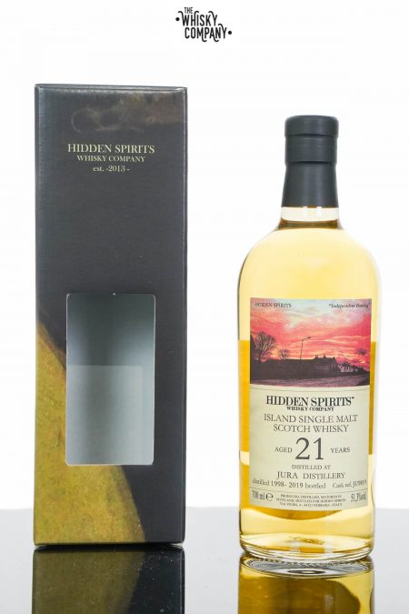 Jura 1998 Aged 21 Years Single Malt Scotch Whisky - Hidden Spirits (700ml)