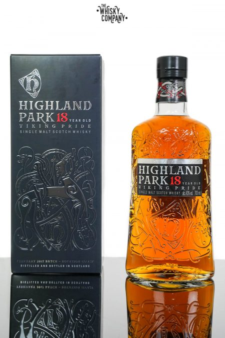 Highland Park Aged 18 Years Viking Pride Single Malt Scotch Whisky (700ml)