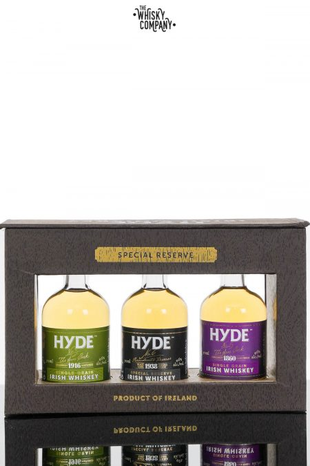 Hyde Irish Whiskey Gift Pack - (3 x 50ml)