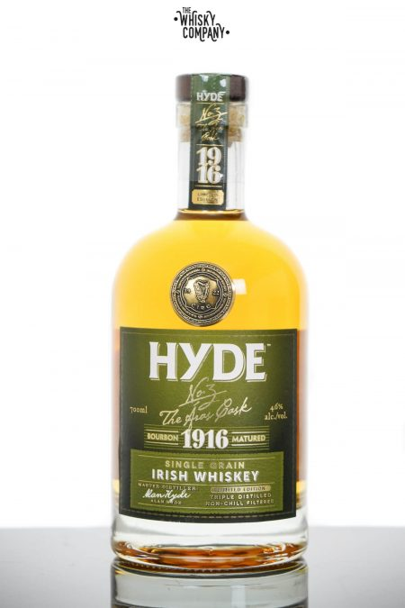 Hyde No. 3 The Aras Cask Bourbon Cask Matured Single Grain Irish Whiskey (700ml)