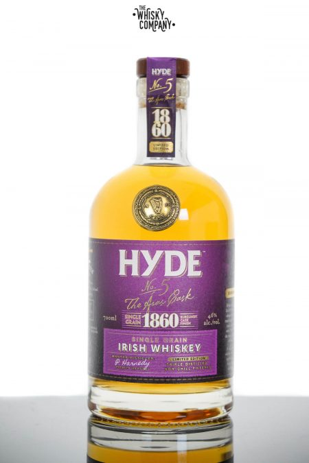 Hyde No. 5 The Aras Burgundy Cask Finish Single Grain Irish Whiskey (700ml)
