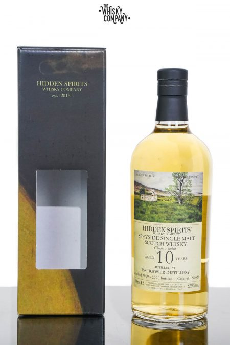 Inchgower 2009 Aged 10 Years Single Malt Scotch Whisky - Hidden Spirits (700ml)