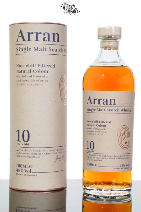 Arran 10 Years Old Island Single Malt Scotch Whisky (700ml)