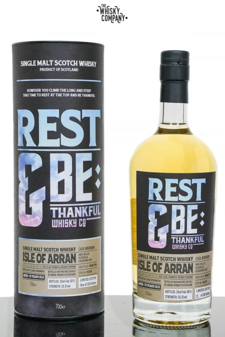 Isle of Arran 1996 Aged 18 Years Single Malt Scotch Whisky - Rest & Be Thankful (700ml)