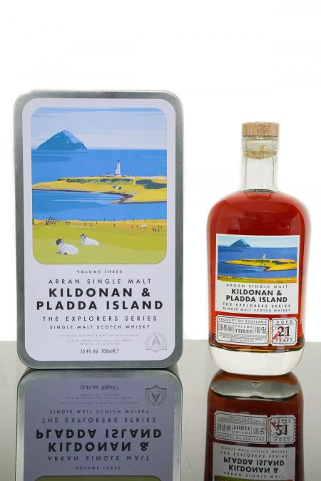 Arran Aged 21 Years Kildonan & Pladda Island 'The Explorer Series' Single Malt Scotch Whisky (700ml)