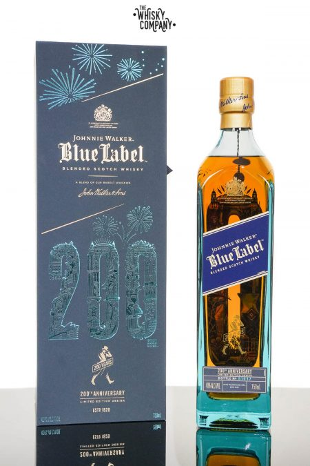 Johnnie Walker Blue Label 200th Anniversary Limited Edition Design Blended Scotch Whisky (750ml)