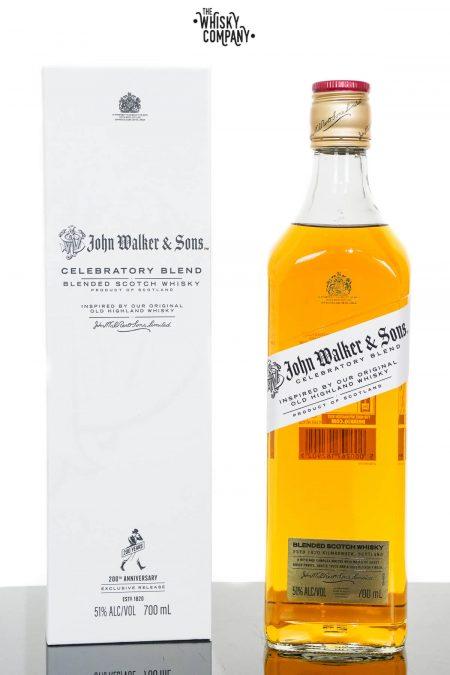 Johnnie Walker John Walker & Sons Celebratory Blend Limited Edition Scotch Whisky (700ml)