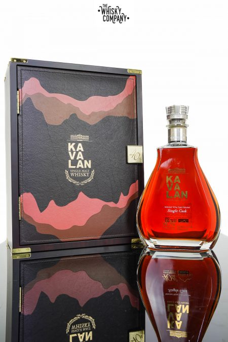 Kavalan 40th Anniversary Limited Edition King Car Group Single Cask Whisky (1500ml)