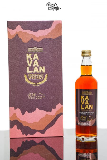 Kavalan 40th Anniversary Limited Edition King Car Group Single Cask Whisky (200ml)